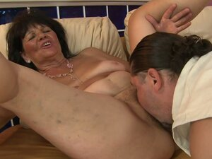 Sweet Granny Helena Riding and Enjoying a Hard Dick