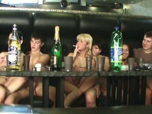 Slutty College Girls Have A Sex Party In A Sauna