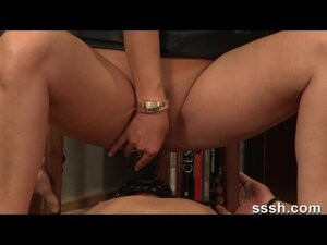 Porn For Women - Wife Puts Dildo On Mans Face And Has Kinky Sex On Him