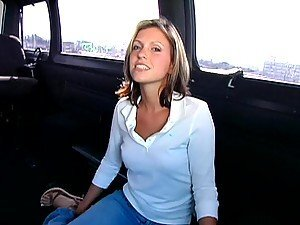 Sex Blonde With A Pink Pussy Has The Bang Bus Experience