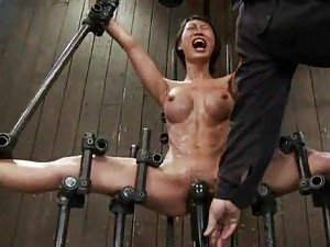 Girls with great bodies in painful bondage