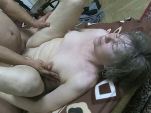 Pussy excavations of old and fat whore with ugly face