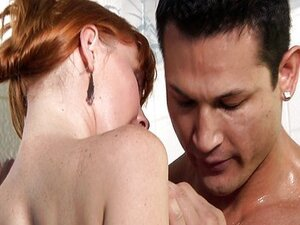 In the shower with a redhead Marie McCray