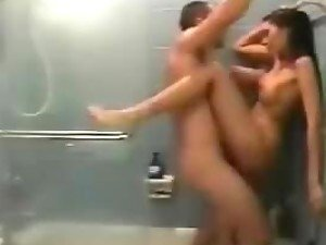Hot Shower Sex With A Horny Couple In Homemade Video