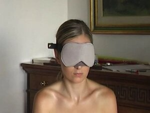 Blindfolded blowjob!