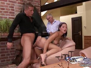 Cuckolding surprise for wife