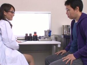 Miku Aoki the sexy doctor gets fucked nice in close up video