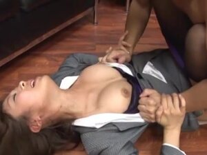 Kirara Asuka gets fucked every which way in an office