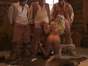 Gangbang Time With The Busty Blonde Jessica Drake