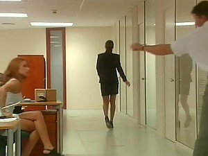 Group Sex Orgy In The Office When The Boss Is Gone