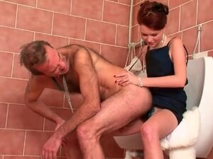 Hairy guy strapon ass fucked by mistress