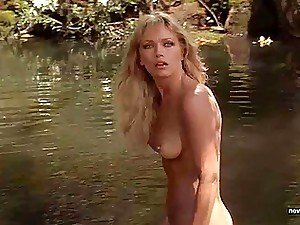 A collection of sexy, revealing scenes where blonde bombshell Tanya Roberts is nude