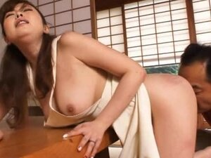 Kinky Asian Wife Gets Fuck'd in Japanese-Style House