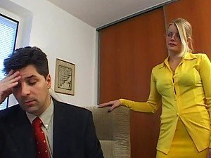 Sexy Milf Gets A Hardcore Fuck From Her Boss At The Office