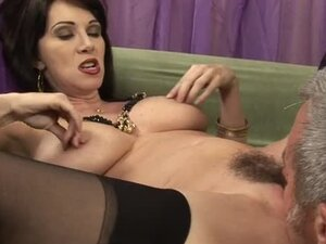 Beautiful and gorgeous milf gets her hairy pussy banged