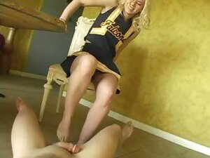 Fem Dom Ball Busting Cheerleaders #02
