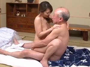 Older man with youg girl