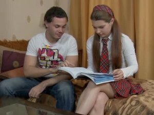 Tutor takes advantage of his hot new student
