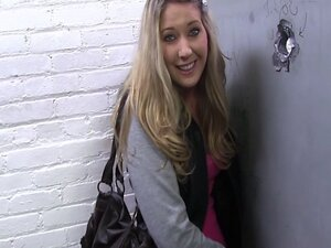 Cute Blonde Teen Alysha Rylee fucked in a Gloryhole