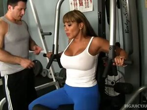 Ava Devine Turns Working Out Into Sex