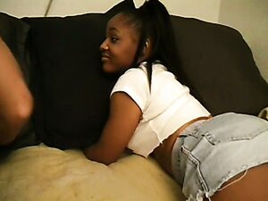 Ebony Teen Seduces An Older Man