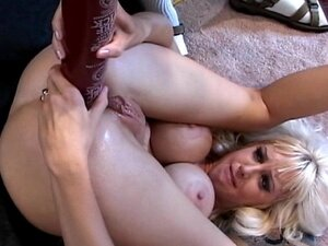 Dildo penetrations in pussy and asshole deep for orgasm