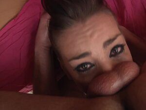 Needy babe likes to deepthroat