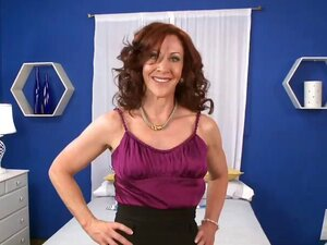 A majestic looking MILF has yet another college going dude to call to her for sex