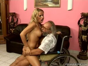 Vivian Goes To The Old Folks Home To Get Old Cock