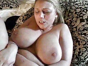 Big titty slut ironing naked and fucking