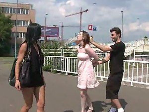 Redhead Taken Outside & Publicly Humiliated