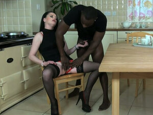 Part 2. This British whore is used to being the dominant