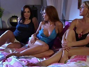 Kirsten Price with Krissy Lynn and Zoe Britton Are Every Man's Fantasy