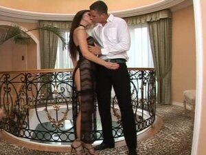 Unforgettable Evening Having Sex with Elegant Brunette Aletta Ocean