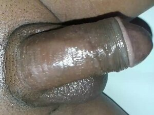Desi indian guy playing with oiled dick