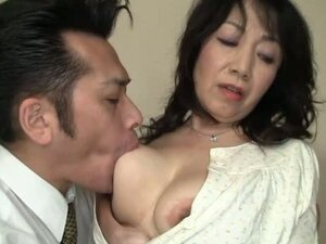 Mature Asian Mama Gets Her Holes Filled With Cock