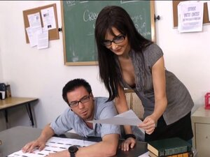 Naughty teacher Diana Prince seduces her student