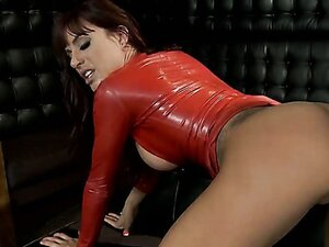 Buxom redhead hoochie Gia Dimarco pleases fat dick like it's her last fuck