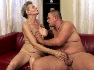 Big Boobed Granny Is Hornier Than When She Was a Teen