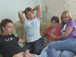 Teen couples share sex experience