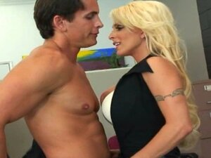 Holly Halston- Busty Office MILF