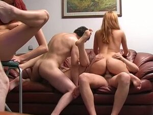 Crazy College Chicks In A Randy & Raunchy Orgy Party