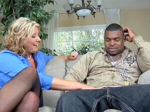 Large Black Cock for Big Blonde Busty MILF Zoey Andrews