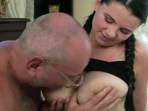 I Shoved My Cock Between Her Big Dairy Pillows