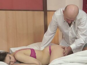 Gorgeous Skinny Girl Fucked By Old Man