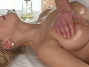 Massage Rooms - Natalie gets a creampie on ass