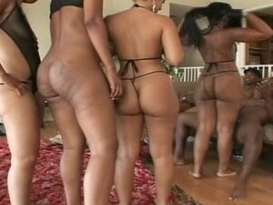 Ebony Ass Orgy 1