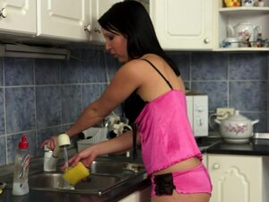 old perverted fuck bones a cutie in the kitchen