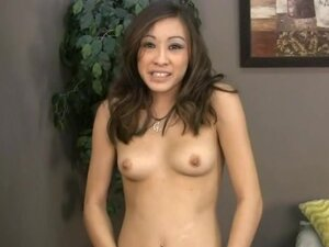 Nasty asian giving handjob sex