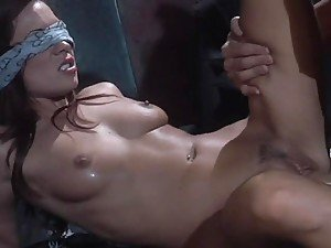 Blindfolded Kirsten Gets Fucked Hard By A Stranger